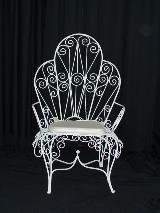 Wrought Iron Single Chair
