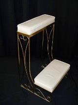 Single Gold Kneeling Bench